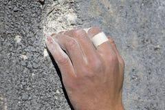 Fuerza del dedo Foto de archivo libre de regalías