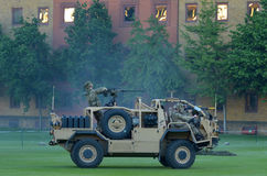 Fuerza del ejército británico durante la demostración militar de la demostración Fotos de archivo libres de regalías