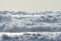 Fuerza del océano Fotos de archivo libres de regalías