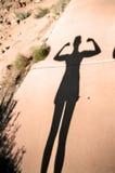 Fuerza en sombra Fotos de archivo libres de regalías