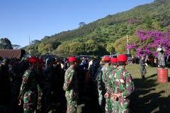 Fuerza especial de ejército roja Imagen de archivo libre de regalías