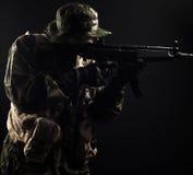 Fuerzas armadas de arma Fotos de archivo