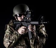 Fuerzas armadas de arma Foto de archivo