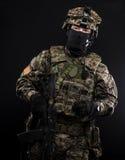 Fuerzas armadas de arma del ruso Fotografía de archivo