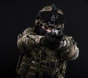 Fuerzas armadas de arma del ruso Foto de archivo libre de regalías
