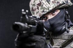 Fuerzas armadas de arma del ruso Fotografía de archivo libre de regalías
