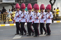 Fuerzas armadas de arma tailandesas reales Foto de archivo libre de regalías