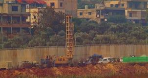 Fuerzas de la CA en la frontera entre Israel y Líbano