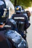 Fuerzas de policía Imagen de archivo libre de regalías
