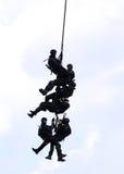 Fuerzas especiales de la policía Foto de archivo