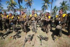 Fuerzas marinas de Estados Unidos en Indonesia Fotografía de archivo