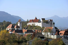 Fuessen in Allgaeu, Bavaria Stock Image