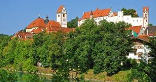 Fuessen, Allgaeu, Baviera Immagine Stock Libera da Diritti