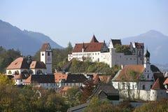 Fuessen in Allgaeu, Baviera Fotografia Stock Libera da Diritti