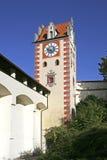 Fuessen in Allgaeu, Baviera Fotografie Stock