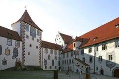 Fuessen in Allgaeu, Baviera Fotografia Stock