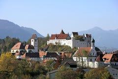 Fuessen in Allgaeu, Baviera Immagine Stock