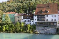 Fuessen in Allgaeu, Baviera Immagine Stock Libera da Diritti