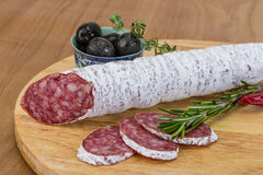 Free Fuet Sausage Stock Photography - 51682022