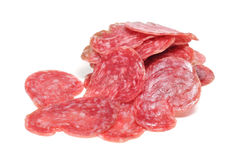 Fuet, spanish salami Royalty Free Stock Images
