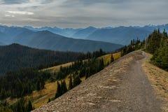 Fuga ao longo do Ridge em Washington Wilderness fotografia de stock royalty free