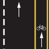 Fuga da bicicleta Imagem de Stock Royalty Free