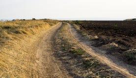 Fuga da estrada de terra Fotografia de Stock Royalty Free