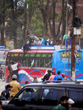 Fuga da Kathmandu Fotografia Stock Libera da Diritti