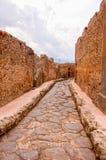 Fuga da Pompei immagine stock libera da diritti