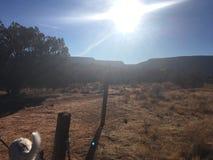 Fuga da rocha de Sedona o Arizona Bell Fotografia de Stock