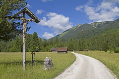 Fuga de caminhada ao Enningalm Foto de Stock Royalty Free