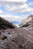 fuga de caminhada da montanha Fotos de Stock Royalty Free