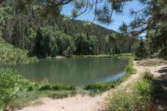 Fuga de Fawn Lakes em New mexico do norte imagens de stock royalty free