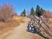 Fuga de Massie Gap em Grayson Highlands fotografia de stock
