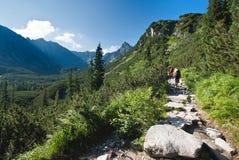 Fuga de montanhas de Tatra Imagem de Stock Royalty Free
