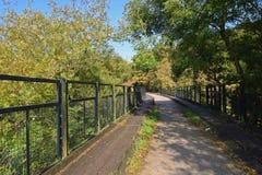 Fuga de Tarka em Rolle Bridge foto de stock