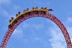 Fuga del superman in mondo la Gold Coast Queensland Australia di film Fotografia Stock