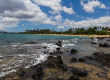 Fuga di inverno ad una destinazione tropicale Fotografie Stock