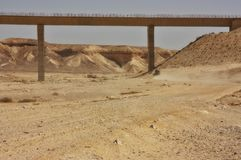 Fuga do deserto Foto de Stock