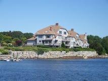 Fuga do litoral de Maine Foto de Stock