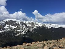 Fuga do parque nacional da montanha de Ricky Foto de Stock Royalty Free