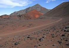 Fuga no parque nacional de Haleakala Fotos de Stock Royalty Free