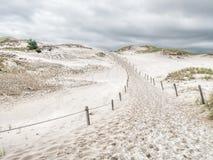 Fuga no parque nacional de Slowinski, Polônia de Sandy Imagens de Stock Royalty Free