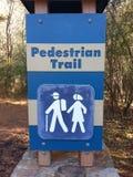 Fuga pedestre Foto de Stock