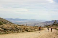 Fuga que corre em Reno, nanovolt imagem de stock
