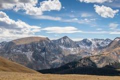 Fuga Ridge Road Colorado Imagem de Stock Royalty Free