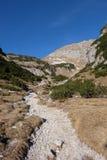 Fuga rochosa nas montanhas Imagens de Stock Royalty Free