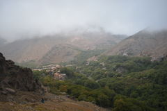 Fuga a toubkal de C4marraquexe em Marrocos Norte de África foto de stock