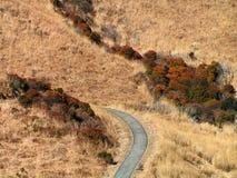 Fuga Trekking em Kyushu - Japão imagens de stock