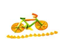 Fuga vegetal da bicicleta Foto de Stock Royalty Free